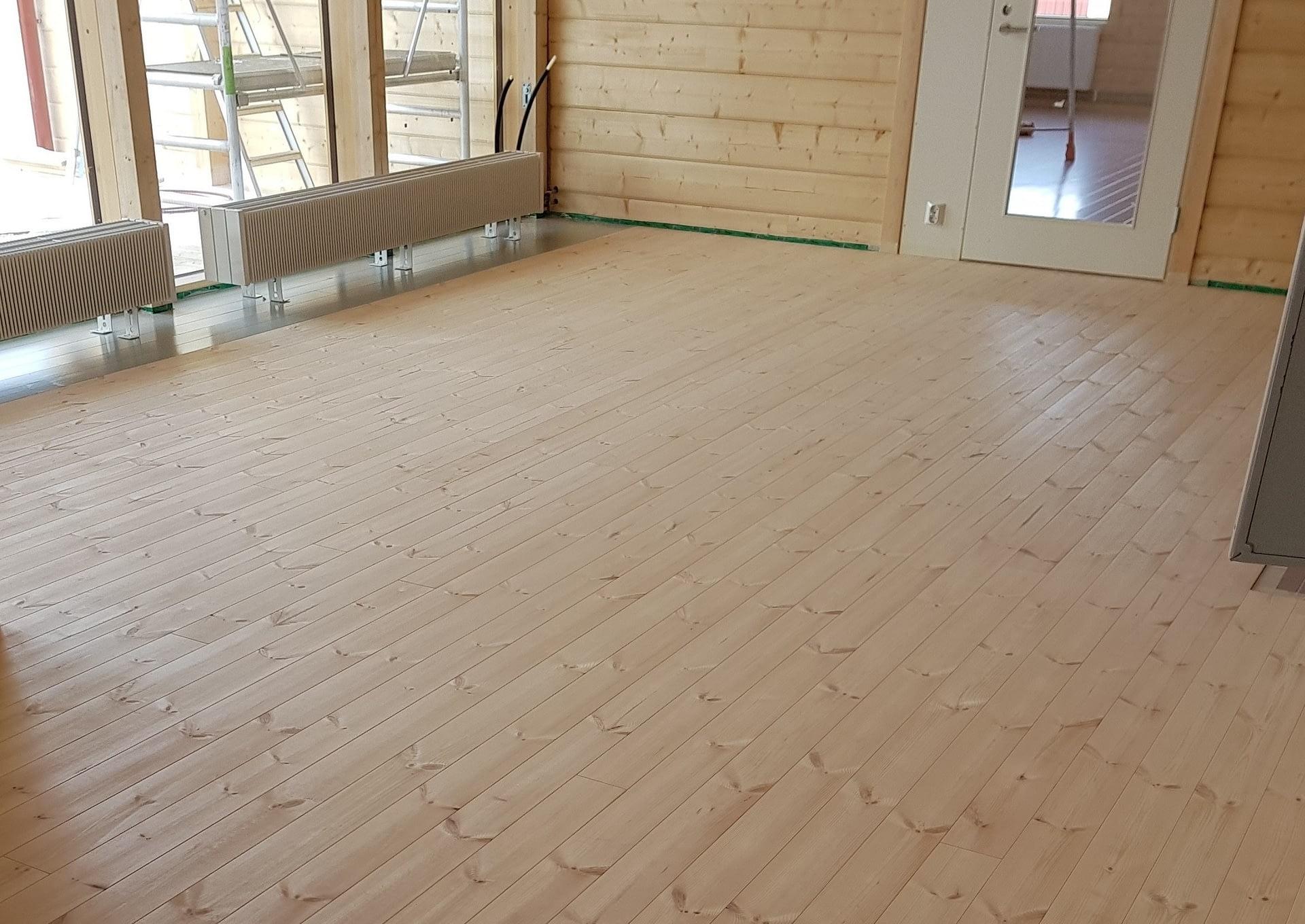 Northern spruce/ pine flooring